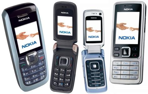 Nokia 2626, Nokia 6086, Nokia 6290 ja Nokia 6300