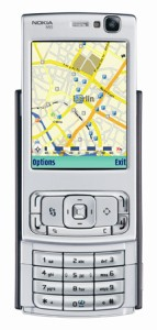 Nokian karttapalvelu N95:ssä