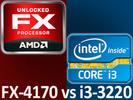 AMD FX-4170 Vs. Intel Core i3-3220: Hvilken CPU er bedst?