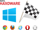 Webbrowser Grand Prix: Chrome 27, Firefox 22, IE10 og Opera Next
