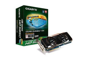 Gigabyte Radeon HD5850 (1024 MB / HDMI / DisplayPort)