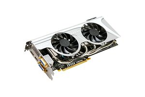 MSI Radeon HD 5870 (1024 MB / 900 MHz / HDMI / DisplayPort)