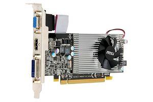 MSI R5570-MD1G (1024 MB / 650 MHz / HDMI)