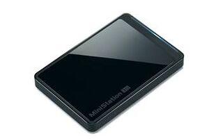 Buffalo Ministation Neo 500GB (USB3, Musta)