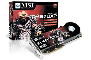 MSI Radeon HD 4870 X2 OC 2GB GDDR5