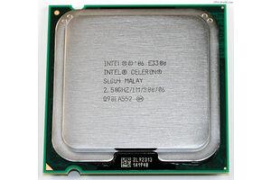Intel Celeron Dual-Core E3300