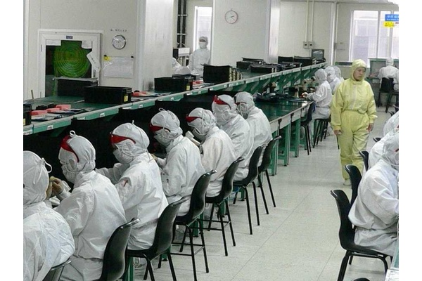 Apple factories are running full steam but people aren't buying iPhones
