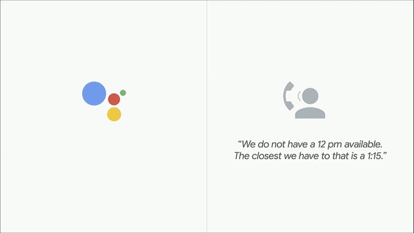 Google Assistant robocalls too human to not include a disclaimer