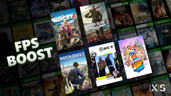 Xbox Series X/S will run older Xbox games more smoothly, thanks to FPS Boost