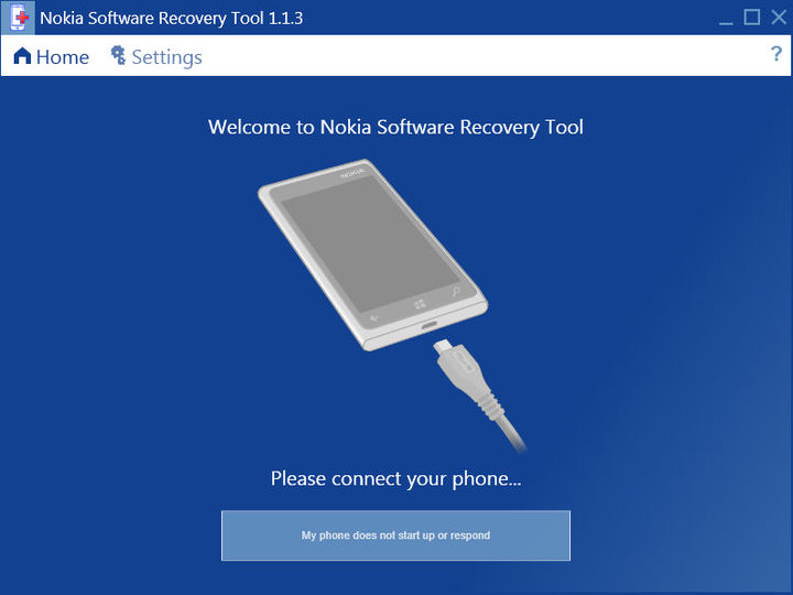 Download Nokia Software Recovery Tool v1 1 3 (freeware