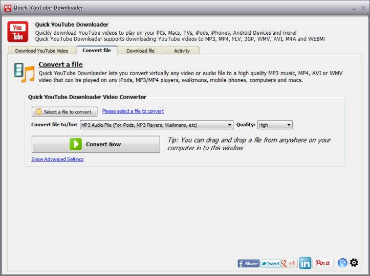Download Quick YouTube Downloader 2014 5 24 (freeware) - AfterDawn