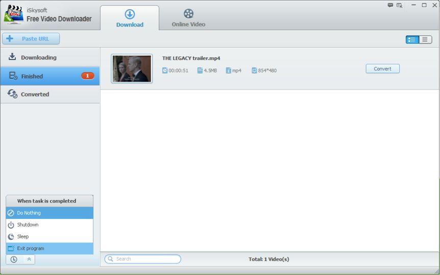 baixar iskysoft free video downloader
