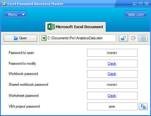 Image Result For Crack Office Excel Password