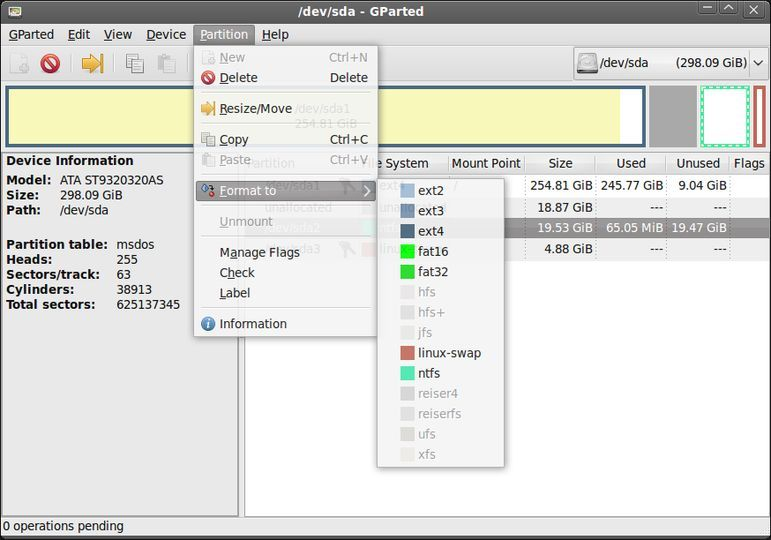 Download GParted (64-bit CD version) v0 33 0-2 (open source