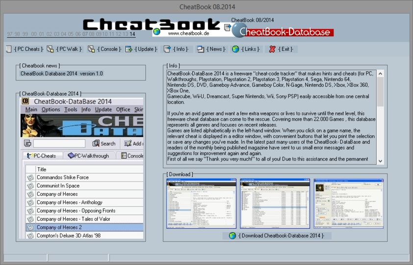 Download CheatBook 086/2019 (freeware) - AfterDawn: Software