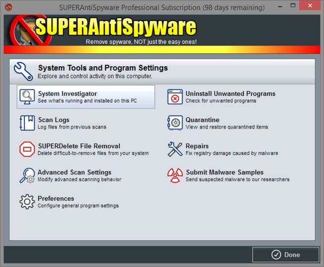 Download SUPERAntiSpyware Professional Edition v8 0 1038 - AfterDawn