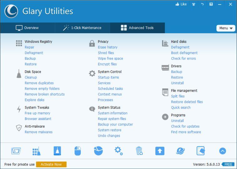 Resultado de imagen de Glary Utilities Pro
