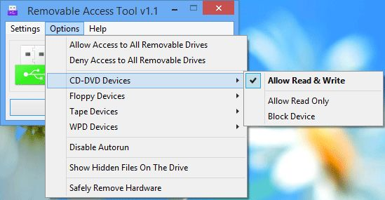 Download Ratool (Removable Access Tool) v1.3 (freeware) - AfterDawn ... ... Ratool (Removable Access Tool) v1.1