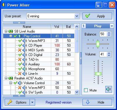 mixer program for windows 7