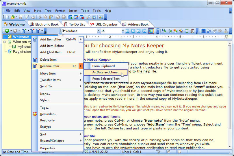 Download My Notes Keeper (portable) v3.4 build 1828 - AfterDawn ...