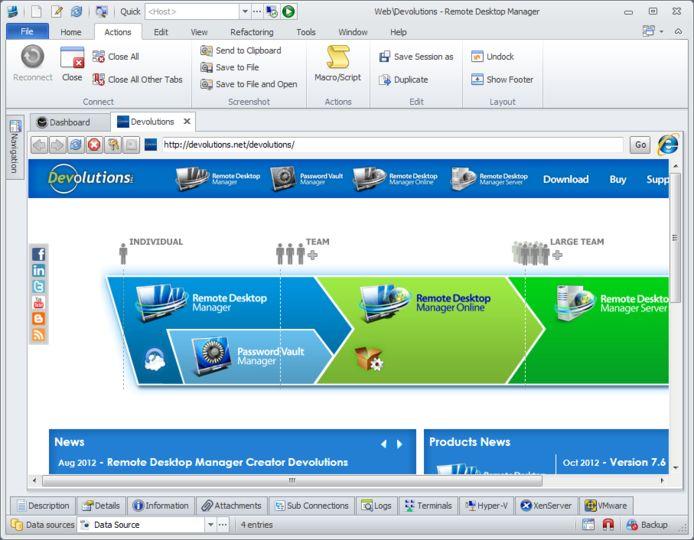 Download Remote Desktop Manager v10 0 4 0 (freeware