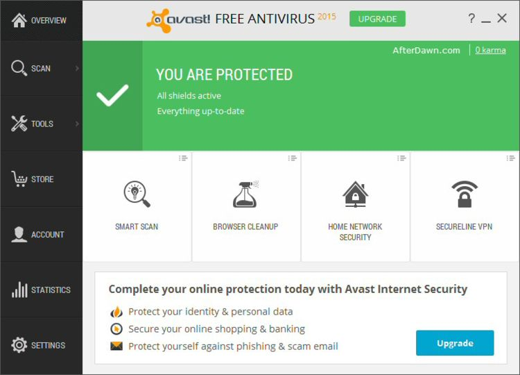 free internet protection antivirus download