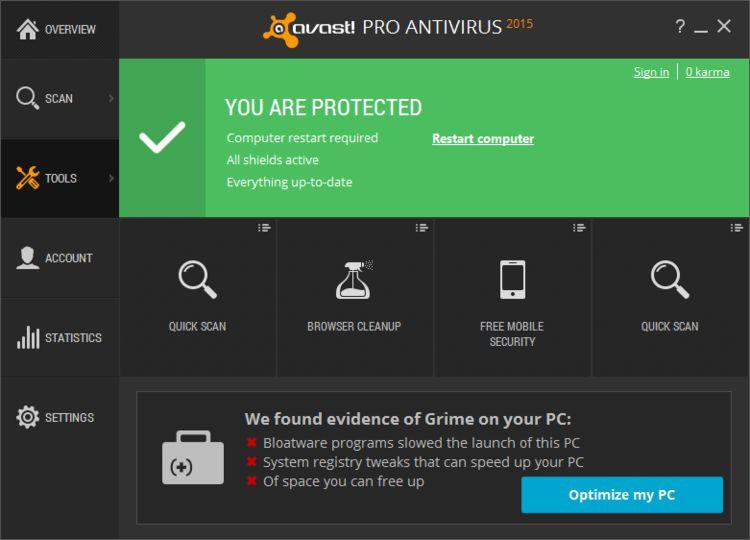 Lataa Avast Free Antivirus