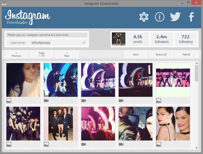 Download Instagram Downloader v2 5 (freeware) - AfterDawn: Software