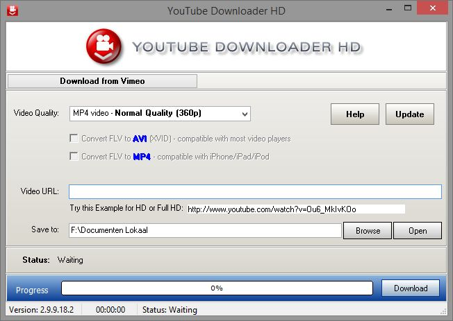 Youtube video downloader for windows pc 7, 8, 10, xp and vista.