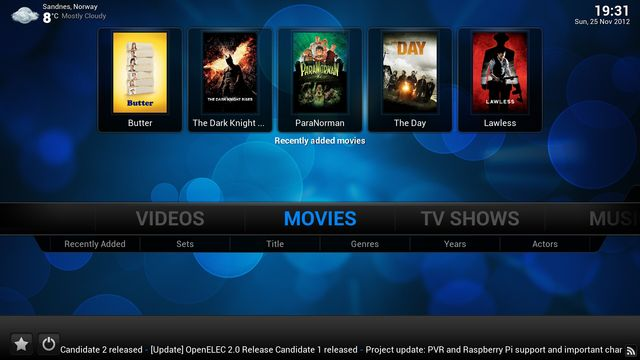 Download OpenELEC (32-bit Generic Build, Disk Image) v5 0 8