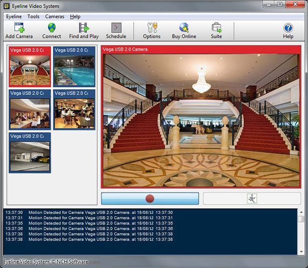 eyeline video surveillance software serial number