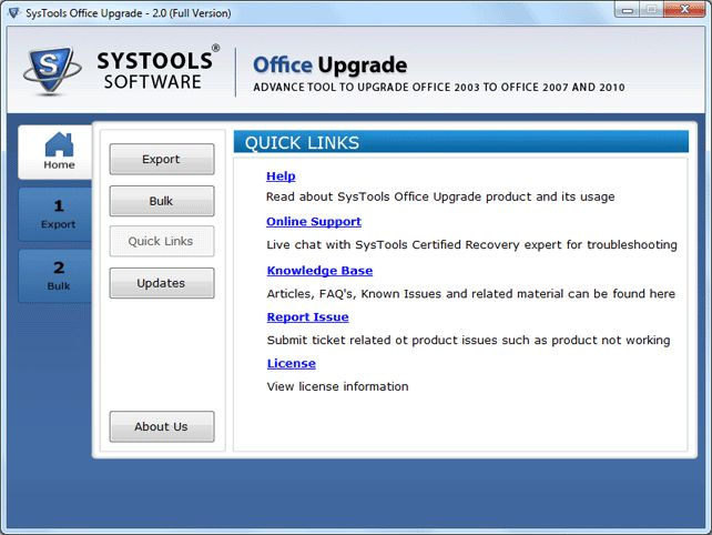 Download SysTools Office Upgrade v2 0 - AfterDawn: Software downloads