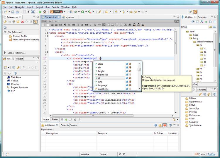 Download Aptana Studio v3 6 0 (open source) - AfterDawn