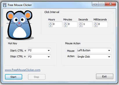 Download Free Mouse Clicker v1 0 (freeware) - AfterDawn
