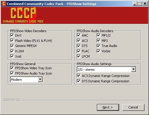 K-Lite Codec Pack (Mega) 15.5.7 - Download | 387x503