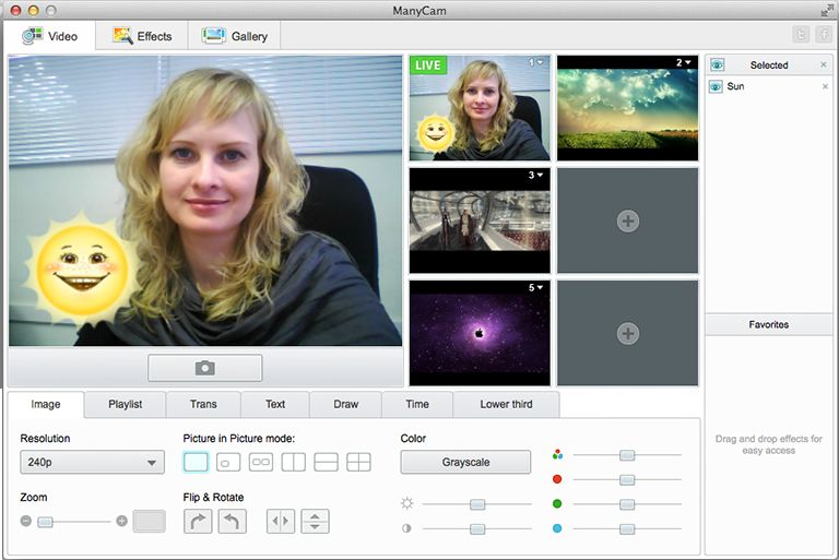 The best free live studio & webcam effects software for Mac