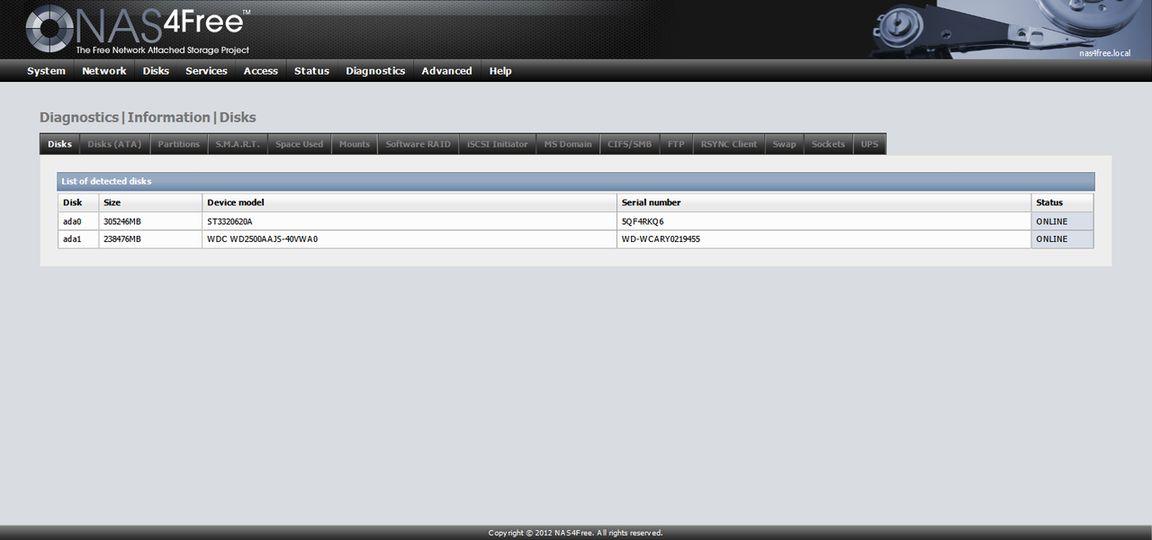 Download NAS4Free (64-bit embedded) v10 1 0 2 1557 Beta (open source