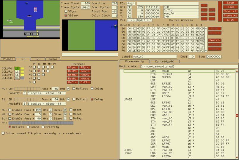 2600 Emulator for Mac OS X