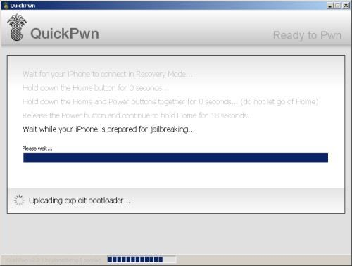 quickpwn pour windows xp