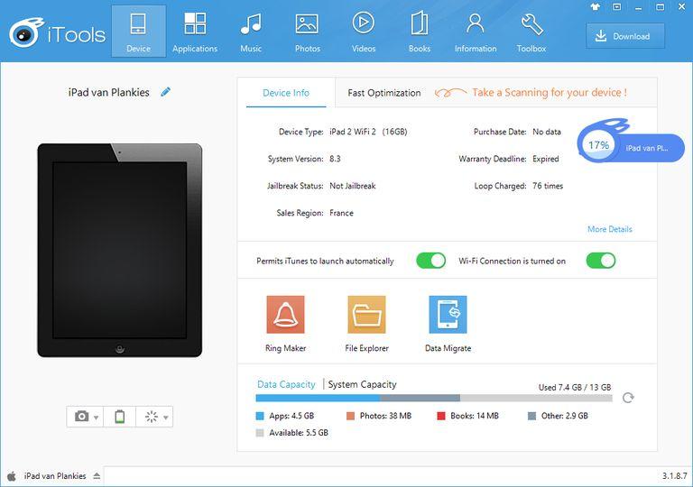 Download iTools v3 1 8 7 (freeware) - AfterDawn: Software