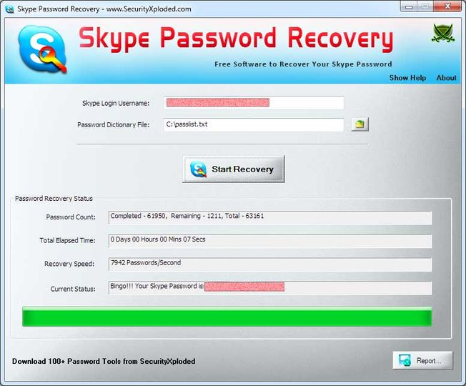 skype brute attacker