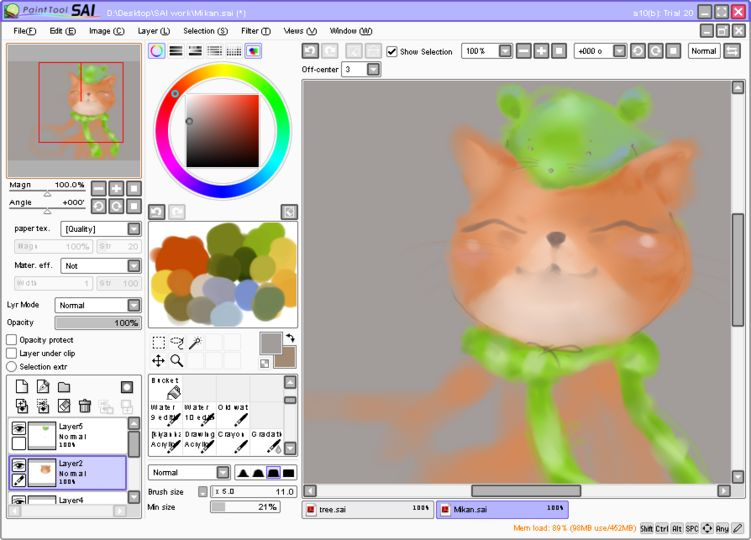 Download Paint Tool Sai Full Version Gratis