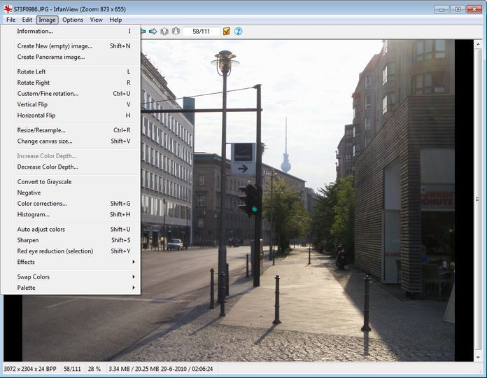 Download IrfanView (64-bit Portable) v4 53 (freeware