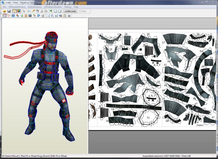 2d Character Design Software Download : Download pepakura designer v a afterdawn software downloads