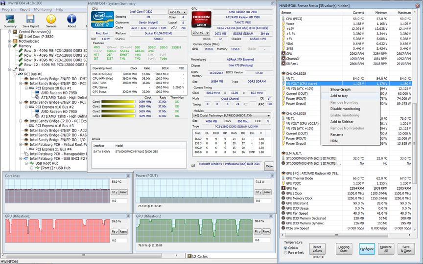HWiNFO (Portable 32/64-bit) v5.04 screenshot 1 / 4