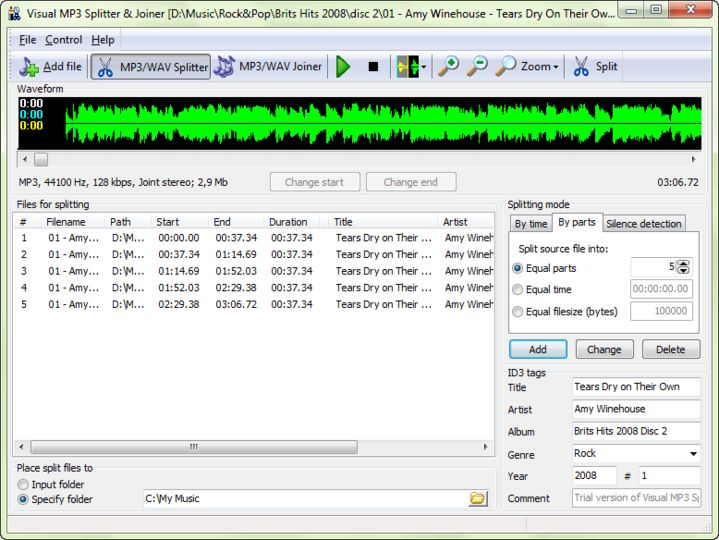 Download MP3 Splitter & Joiner   (Free) for Windows