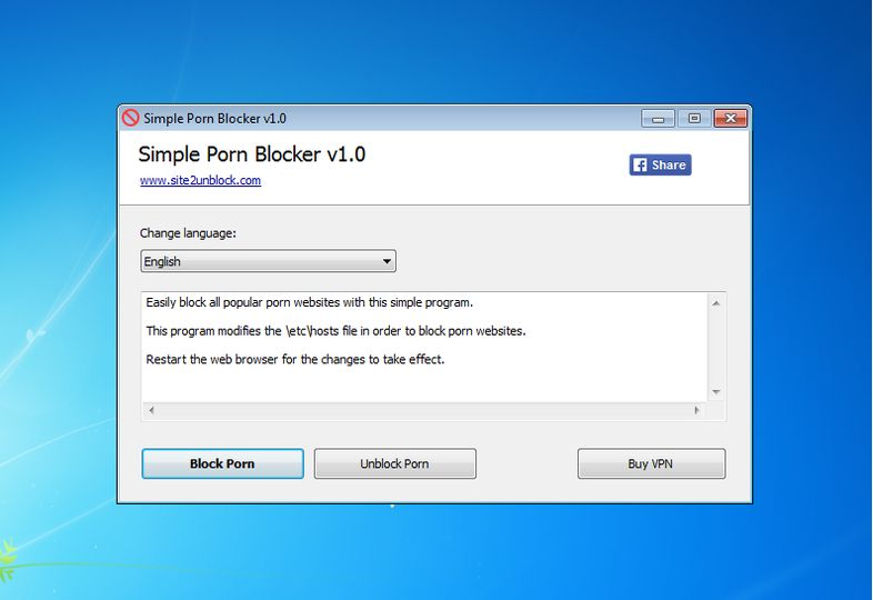 Download Simple Porn Blocker Portable V10 Freeware -5255