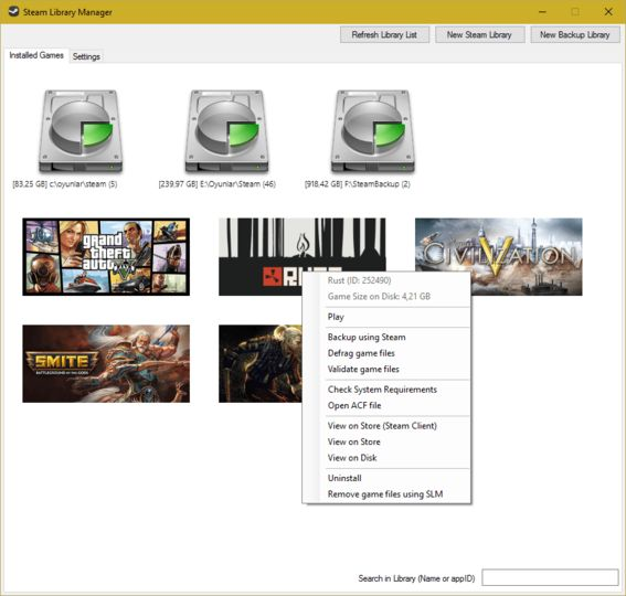 Download Steam Library Manager v1 2 2 1 (freeware) - AfterDawn