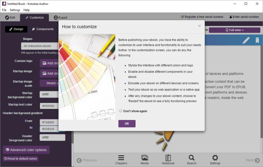 How to download kotobee ebook