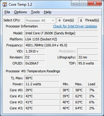 core temp 1.0 rc6 free download